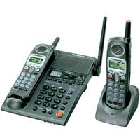 Panasonic KXTG2357 2.4 GHz FHSS GigaRange 2 Handset Bundle System with Digital Answering System and