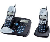 GE 21015GE2 - 2.4 GHz Two Handset Cordless Phone System