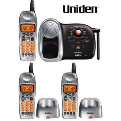 Uniden DCT648-3  2.4GHz Digital Expandable System with 3 Handsets