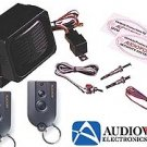 AUDIOVOX FULL FEATURED SECURITY SYSTEM TALKING ALARM WITH 5 VOICE RESPONSES