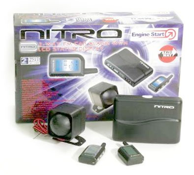 Nitro Two-way Engine Start/Alarm with LCD