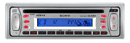 SONY CDX-L300 CD Player SSIR-EXA-liquid crystal display