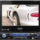 Panasonic CQ-VD7500U DVD/CD/SD receiver with 7 widescreen monitor