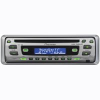 Pioneer DEH1700 45 W X 4 In-Dash Car CD Receiver w/ Detachable Face Security