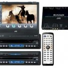 JVC KD-AV7010 DVD Multimedia Center - Easy touch panel operation controls DVD menus, CD tracks, and