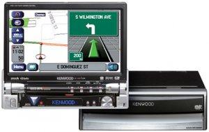 Kenwoods P-NAV815 Complete Mobile Entertainment & Navigation Package