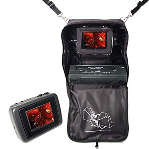 G2G TKD056 - Portable Mobile System with Built-In 5.6 Inch Monitor and DVD Player