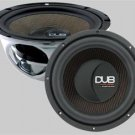 "Audiobahn DUB200 12"" 500W Dub Series Subwoofers (Set of 2)"
