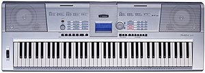 Yamaha DGX-205 76-key Educational Keyboard With Built-in Rom, Midi And Song Sequencer