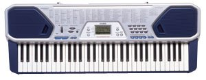 Casio CTK-491 61 Key Full-Size Keyboard with Sing Along Mic Input