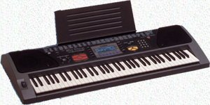 Casio WK-1350 -  6 Octave Touch Sensitive Keyboard with Backlit LCD and MIDI
