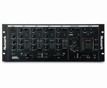 NUMARK 200FX Vocal Effects Mixer w/16 professional digital effects