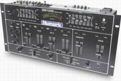 Numark DM1200  Audio Mixers  5/8 Line Mixer