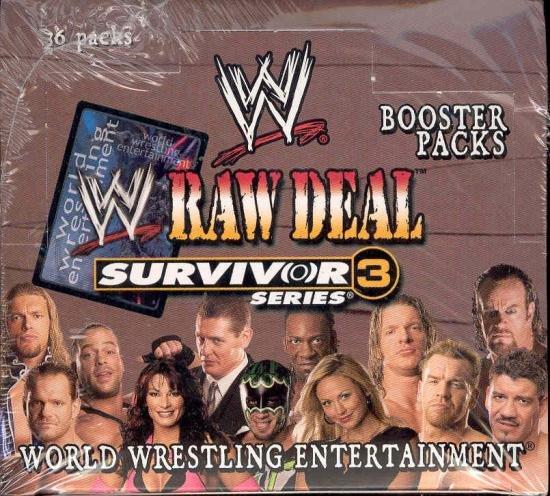 Raw Deal Survivor Series 3 Booster Box
