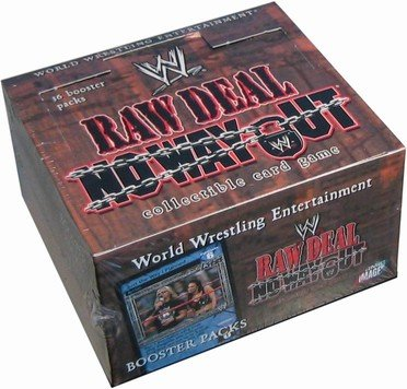 Raw Deal No Way Out booster box