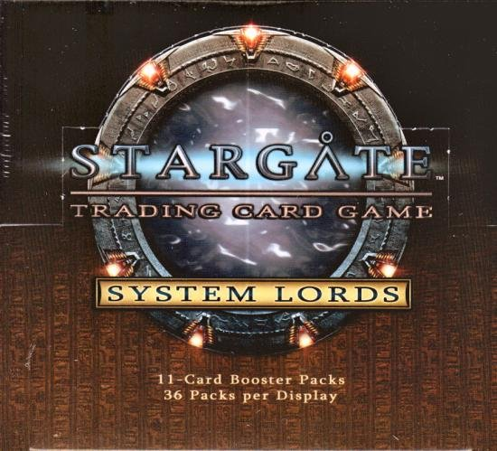 Stargate System Lords Sealed Booster Box CCG