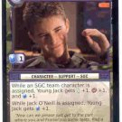 Stargate CCG Young Jack Promo Card