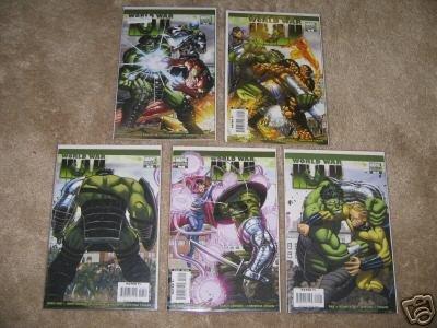 World War Hulk #1-5 Variant Comic Set  John Romita Jr.