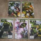 World War Hulk #1-5 Variant Comic Set  John Romita Jr.