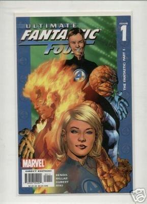 Ultimate Fantastic Four #1-50 comic run #21 variant