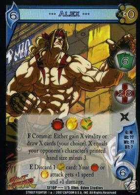 UFS Alex Foil Promo Card  SF10P....1/5