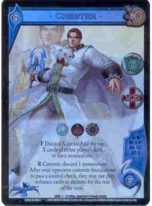 UFS Chester Foil Promo Card SC6P....2/9