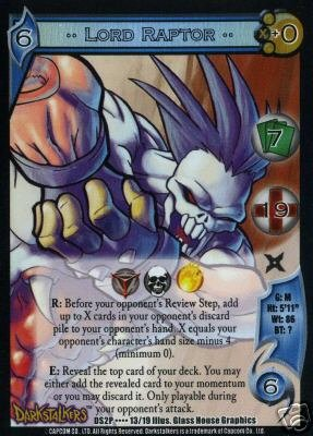 UFS Lord Raptor Foil Promo Card DS2P....13/19