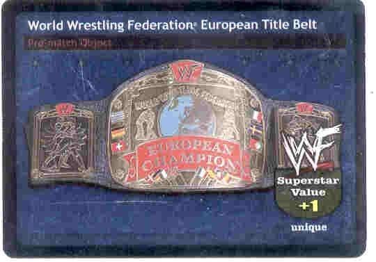 Raw Deal European Title Belt Foil ver. 2