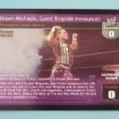 Raw Deal Shawn Michaels Guest Ringside Announcer Foil