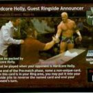Raw Deal Hardcore Holly Guest Ringside Announcer Foil