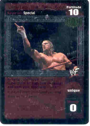 Raw Deal 'Cause I am...That...Damn...Good Foil Promo #06/PR