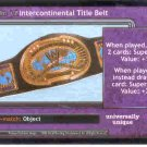 Raw Deal Revolution Intercontinental Title Belt Foil P-11