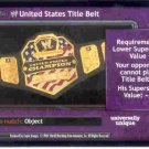 Raw Deal Revolution United States Title Belt Foil P-23