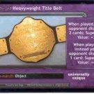 Raw Deal Revolution Heavyweight Title Belt Foil P-12