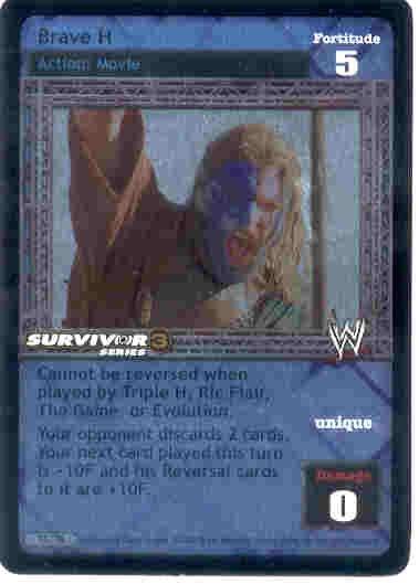 Raw Deal Brave H Foil Promo Card 13/TK