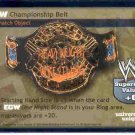 Raw Deal ECW Championship Belt Foil 28/TK