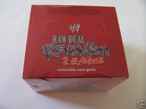 Raw Deal Revolution 2 Extreme Combo Sealed Box