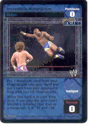 Raw Deal Incredible Athleticism Ultra-rare Foil