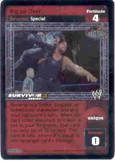 Raw Deal Big All Over Foil SS3 Ultra-rare