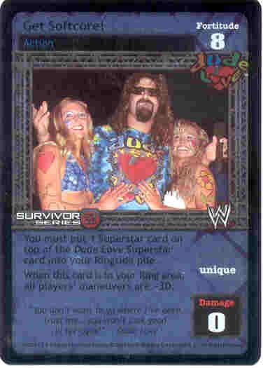 Raw Deal Get Softcore Ultra-rare Foil SS2