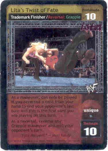 Raw Deal Lita's Twist of Fate Ultra-rare Foil