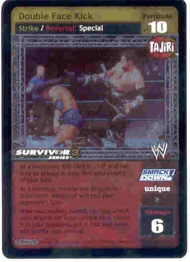 Raw Deal Double Face Kick SS3 Ultra-rare Foil