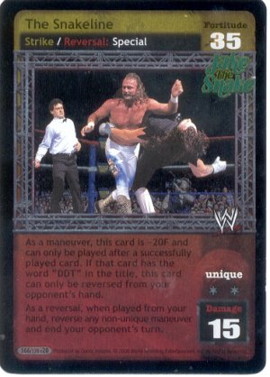 Raw Deal The Snakeline Ultra-rare Foil
