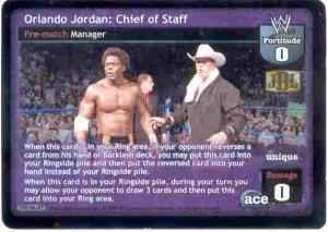 Raw Deal Orlando Jordan: Chief of Staff Ultra-rare Foil