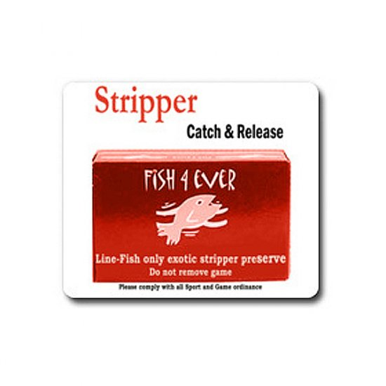 Stripper Catch & Realease Mouse pad