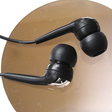 FREE SHIPPING -- BRAND NEW Genuine SONY MDR-EX71 Headphone Black+extenison cable+ leather case