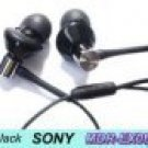 FREE SHIPPING -- 10 pcs Genuine New  SONY MDR-EX082 earphones + extenison cord + leather case