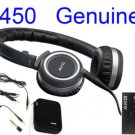FREE SHIPPING -- New Black AKG K450 HiFi Folding Earphone K 450 Headphone