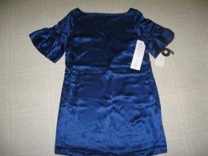 NWT New Blue Silk Dress by Nine West Size 6