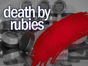 Paint Me Perfect Eye Shadow: Death By Rubies